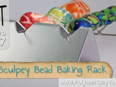 Sculpey Clay Bead Baking Rack Review - New Product 2014