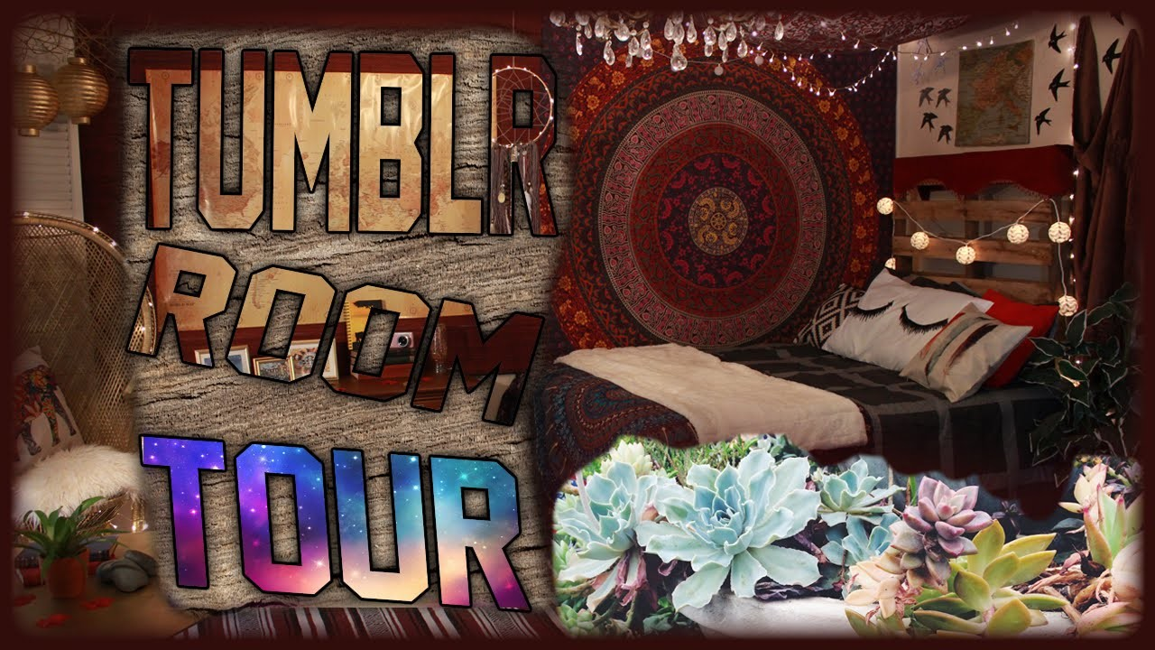 Tumblr Room Tour! | Fall 2015 Room Tour! | Tumblr Inspired Bedroom For Teens!
