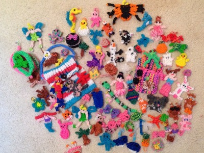 All my rainbow loom things I have made
