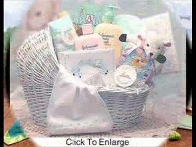 Baby Gift Baskets Filled With Baby Accessories from www.kimsgiftbaskets.com