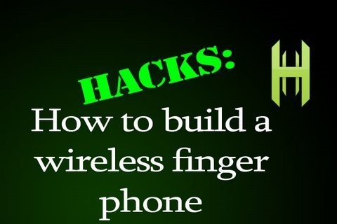 Build a wireless Finger Phone