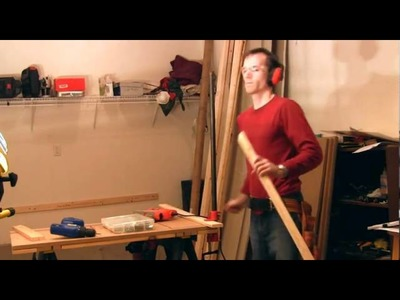 Building a simple work bench in your garage
