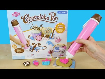 Chocolate Pen Candy Craft Skyrocket Toys - Draw With Chocolate Candy!