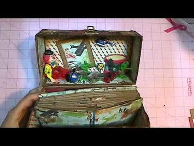 Crate Paper Toy Box Project