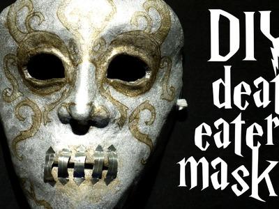 DIY Bellatrix death eater mask - Harry Potter tutorial + CONTEST WINNERS
