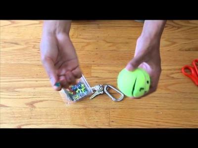 DIY Episode 1: Tennis Ball Key Holder