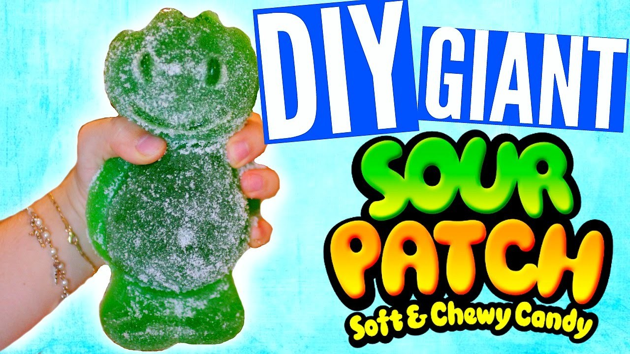 DIY GIANT Sour Patch Kid! World's LARGEST Sour Patch Kid!!