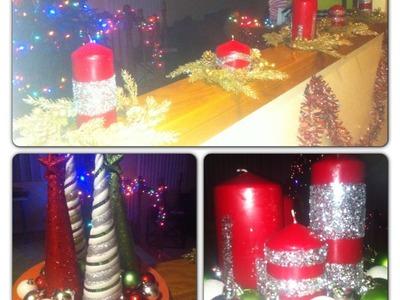 DIY Holiday Candles
