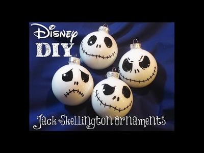 DIY: Jack Skellington Christmas Ornaments! Super Easy To Make! Nightmare Before Christmas Disney