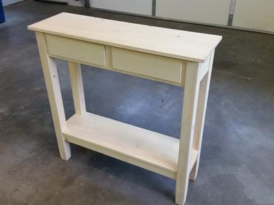 DIY - Simple Hall Table
