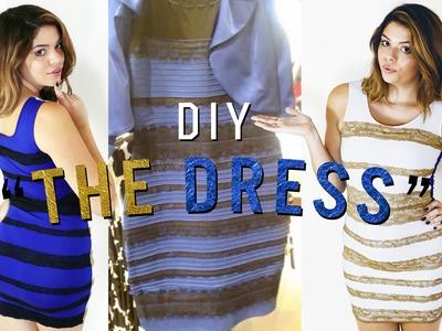 "DIY ""THE DRESS"" . DRESSGATE HALLOWEEN COSTUME"
