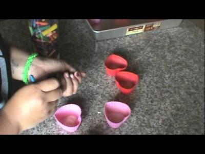 DIY Valentines Day Crayons
