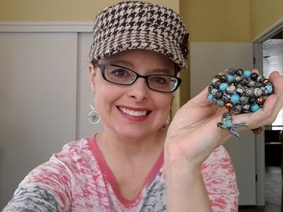 DIY Weekend #3 - Memory Wire Wrap Bracelet