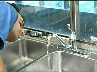 Do-It-Yourself - How to replace a kitchen faucet