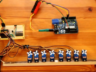 Drive 10 Servos with 2 Arduino Pins