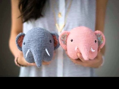 Easy crochet elephant tutorial