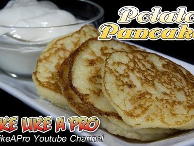 Easy Potato Pancakes recipe ! - Delicious !
