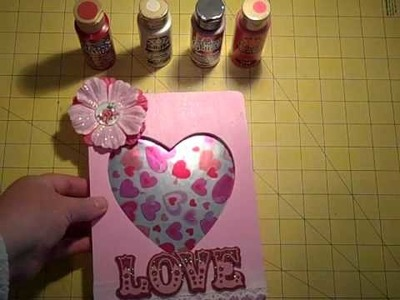 Episode 196 ~ Valentine's Day Picture Frames