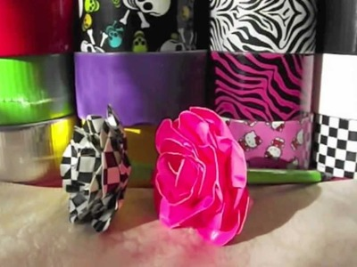 GIVEAWAY  ***Nail Art & Duct Tape Roses*** (CLOSED)