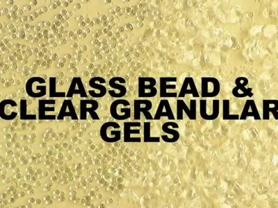GOLDEN Glass Bead Gel and Clear Granular
