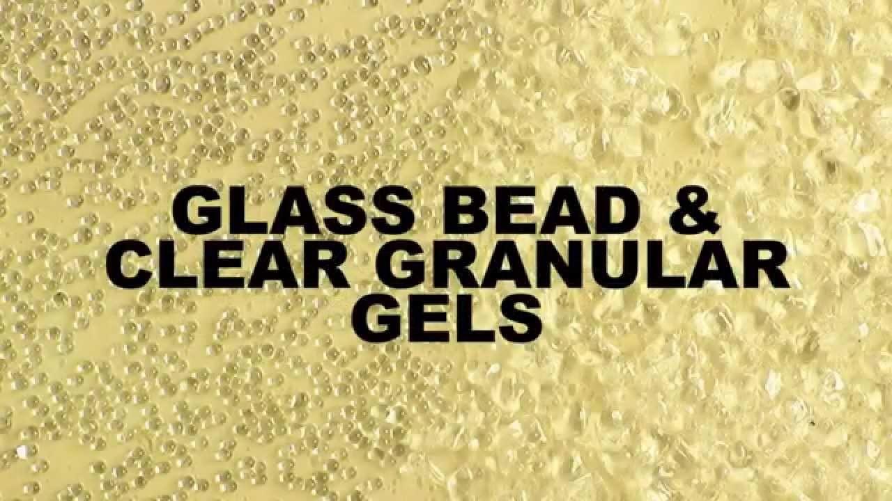 GOLDEN Glass Bead Gel and Clear Granular