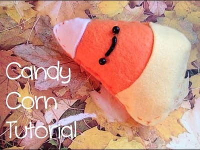 Halloween Candy Corn Plush Tutorial!