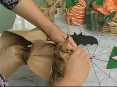 Halloween Decorations & Treats for Parties : How to Make a Halloween Tree with Paper