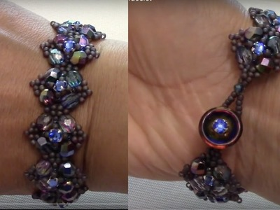 Handmade Jewelry, Purple Haze Bracelet Part 2 of 2