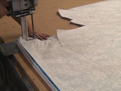 Hawaiian Dress and Shirt Fabric Cutting