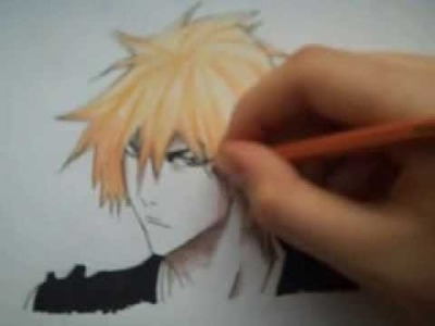 How to color skin tones using colored pencils