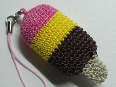 How To Make A Crocheted Ice Cream Key Charm - DIY Crafts Tutorial - Guidecentral