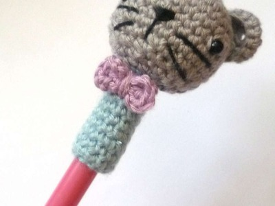 How To Make A Cute Crocheted Kitten Cap Pen - DIY Crafts Tutorial - Guidecentral