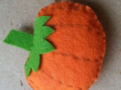 How To Make A Cute Pumpkin Soft Toy - DIY Crafts Tutorial - Guidecentral