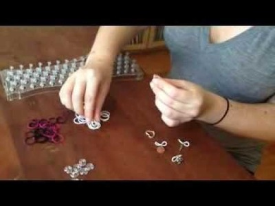 How to Make a FunLoom Rubber Band Bracelet with Multiple Charms