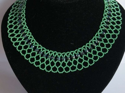 How To Make A Necklace With Green Beads - DIY Style Tutorial - Guidecentral