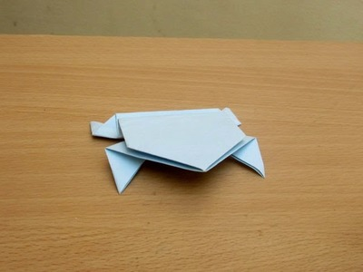 How to Make a Paper Frog - Easy Tutorials
