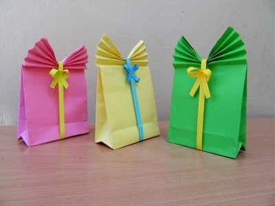 How to Make a Paper Gift Bag - Easy Tutorials