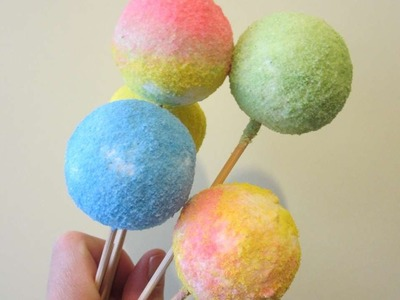 How To Make Delicious Lollipops With Chalk And Salt - DIY Crafts Tutorial - Guidecentral