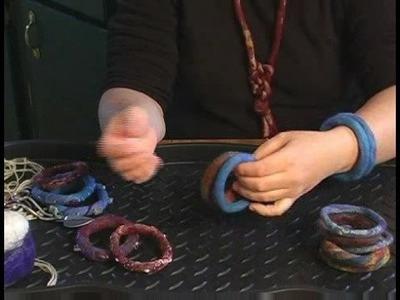How to Make Felt Bracelets : Felt Bracelet Add-ons