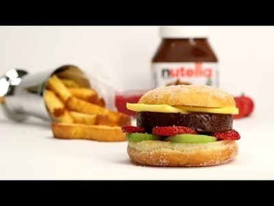 How to Make Nutella Burgers For Dessert | Eat the Trend