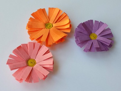 How to make Paper Daisy Flower