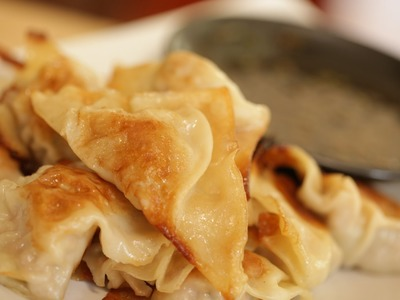 How To Make Potstickers with Byron & Rachel Talbott (THE DISH)