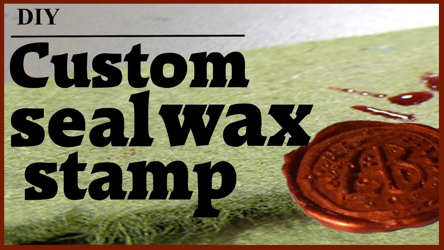 How to make your own seal wax. Como hacer tu propio sello de lacre para invitaciones, bodas