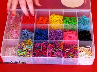How To Store Rainbow Loom Rubber Bands - Rainbow Loom Bracelets, Rings, and More