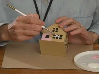 Making a Glitter House