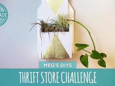 Meg's Thrift Store Challenge - HGTV Handmade