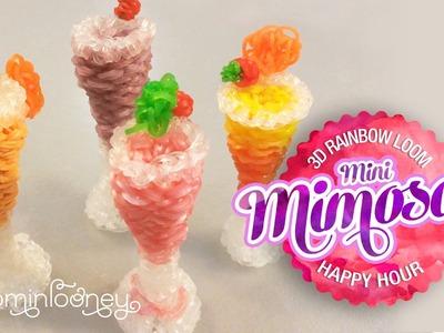 Mini Loom Mimosas: 3D Rainbow Loom Cocktail Series