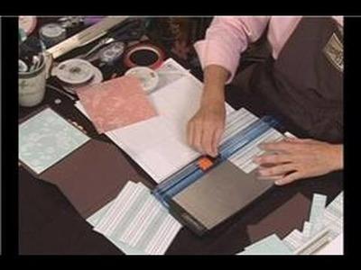 Mother's Day Purse Scrapbook : Mother's Day Purse Scrapbook: Assembling Designer Paper