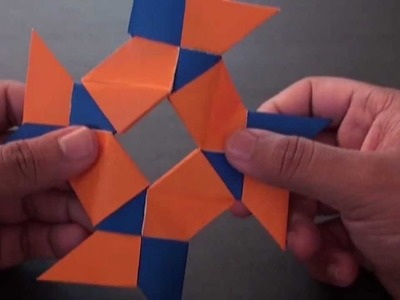 Origami Daily - 353: 8 Pointed Ninja Star (Frisbee) - TCGames [HD]