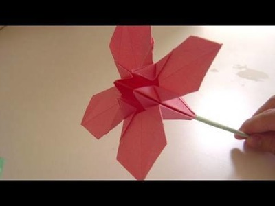 Origami Flower - How to